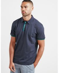 f918d93c9 BOSS Mens Paxto Short Sleeve Polo Shirt Navy Blue in Blue for Men - Lyst