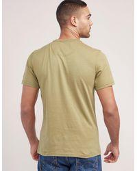 Barbour - Green International Small Logo Short Sleeve T-shirt for Men - Lyst