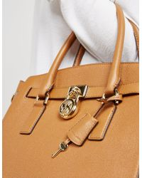 Michael Kors - Womens Large Satchel Bag - Online Exclusive Brown - Lyst