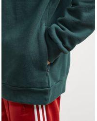 Adidas Originals - Mens Trefoil State Overhead Hoodie Green Night/white for Men - Lyst