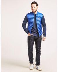 Pyrenex - Blue Lightweight Gilet for Men - Lyst