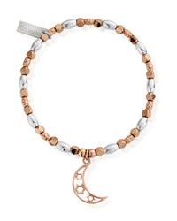 ChloBo - Metallic Inner Spirit Lunar Cresent Moon Bracelet - Lyst