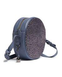 bell&fox | Blue Canteen Pony Bag | Lyst