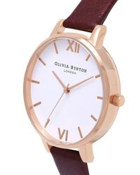 Olivia Burton - Multicolor Big White Dial Watch - Lyst