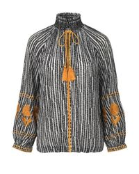 Day Birger et Mikkelsen - Black Day Crocus Blouse - Lyst