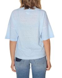DSquared² - Light Blue Cotton T-shirt - Lyst
