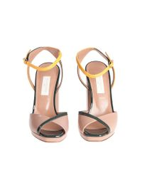 L'Autre Chose - Multicolor Leather Sandals - Lyst