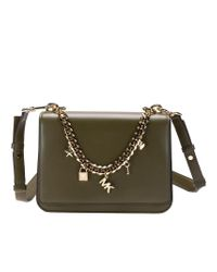 Michael Kors Mott Bag in Green - Lyst 165fe6984ed23