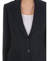 Étoile Isabel Marant - Blue Isaure Pinstripe Jacket - Lyst