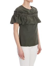 Jucca - Green Cotton Top - Lyst