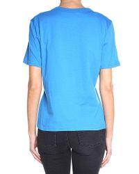 Alberta Ferretti - Light Blue Sunday T-shirt - Lyst