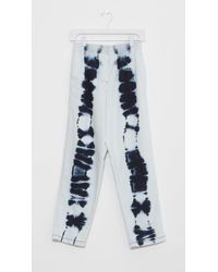 MM6 by Maison Martin Margiela - White Bleach Batik Jeans - Lyst