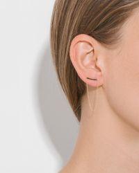 Gabriela Artigas - Multicolor Mini Thin Staple Earrings - Lyst