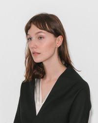 Kathleen Whitaker - Multicolor Small Single Sphere Stud - Lyst