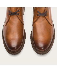 Frye - Brown James Lug Chukka for Men - Lyst