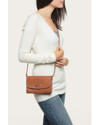 Frye | Brown Casey Wallet Crossbody | Lyst