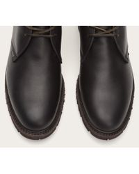 Frye - Black James Lug Chukka Shearling for Men - Lyst
