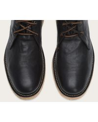 Frye - Black Hudson Chukka for Men - Lyst