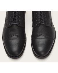 Frye | Black Everett Cap Toe for Men | Lyst