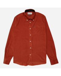 Barbour | Red Morris Shirt for Men | Lyst