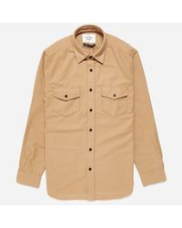 Portuguese Flannel - Natural Campo Shirt for Men - Lyst