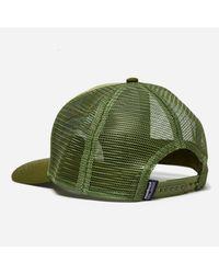 Patagonia - Green P-6 Logo Trucker Hat for Men - Lyst