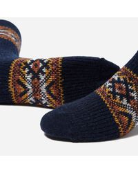 Anonymous Ism - Blue Estonian Jacquard Socks for Men - Lyst