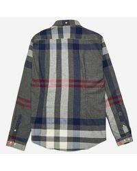 Barbour - Gray Alfie Shirt for Men - Lyst