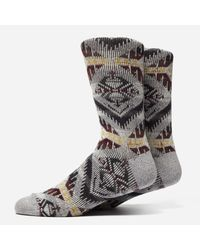 Anonymous Ism - Gray Wigwam 85 Socks for Men - Lyst
