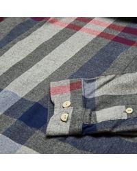Barbour | Gray Alfie Shirt for Men | Lyst