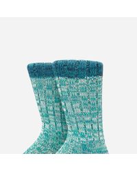 Anonymous Ism - Green Holiday Panel Mix Crew Socks for Men - Lyst