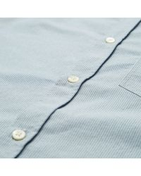 "Norse Projects | Blue Anton Oxford Short Sleeve Shirt ""hip Exclusive"" for Men 