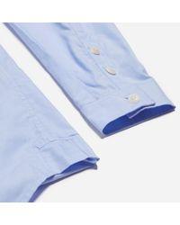 Folk - Blue Pyjama Shirt for Men - Lyst