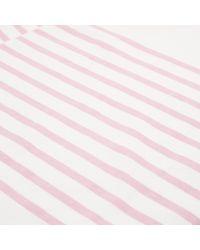 Albam | Pink Stripe Breton T-shirt for Men | Lyst