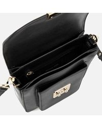 MICHAEL Michael Kors | Black Sloan Editor Large North South Messenger Bag | Lyst