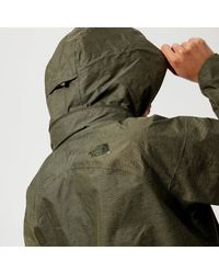 The North Face - Green Inlux Dryvent Jacket - Lyst