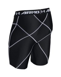 Under Armour - Black Heatgear Armour Compression Shorts for Men - Lyst