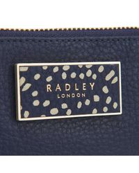 Radley - Blue Columbia Road Small Zip Purse - Lyst