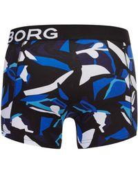 Björn Borg - Black Bb Graphic Boxer Shorts for Men - Lyst