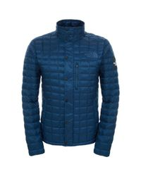 The North Face | Blue Denali Thermoball Jacket for Men | Lyst