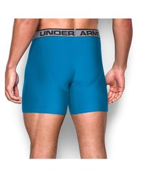 "Under Armour - Blue Original 6"""" Twist Boxerjock for Men - Lyst"