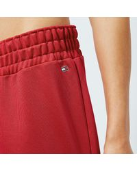 Tommy Hilfiger Red Benni Trackpants