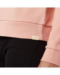 Maison Scotch - Pink Club Nomade Crew Neck Sweatshirt - Lyst