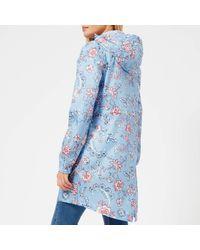Joules - Blue Golightly Waterproof Packaway Jacket - Lyst