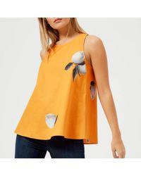 BOSS Orange - Orange Kaviva Top - Lyst