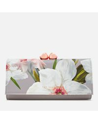 Ted Baker - Multicolor Chatsworth Bloom Bobble Matinee Purse - Lyst