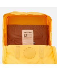 Fjallraven - Yellow Kanken Greenland Backpack - - Lyst
