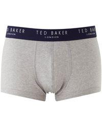 Ted Baker Blue Davinci Plain Boxers 3 Pack for men