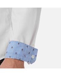 BOSS Green - White C Buster Shirt for Men - Lyst