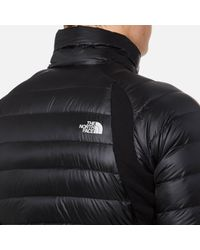 The North Face Black Crimptastic Hybrid Jacket for men